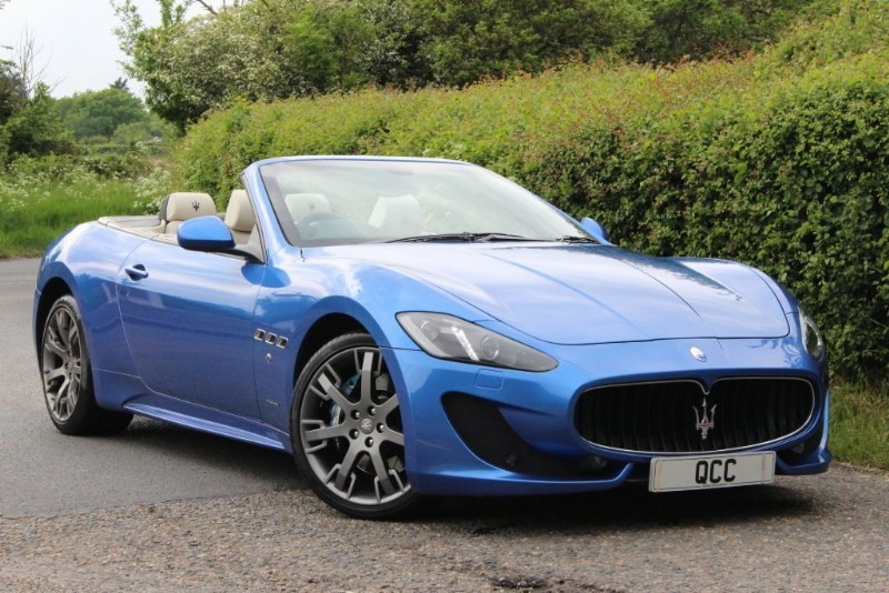 used Maserati Grancabrio SPORT in essex-for-sale