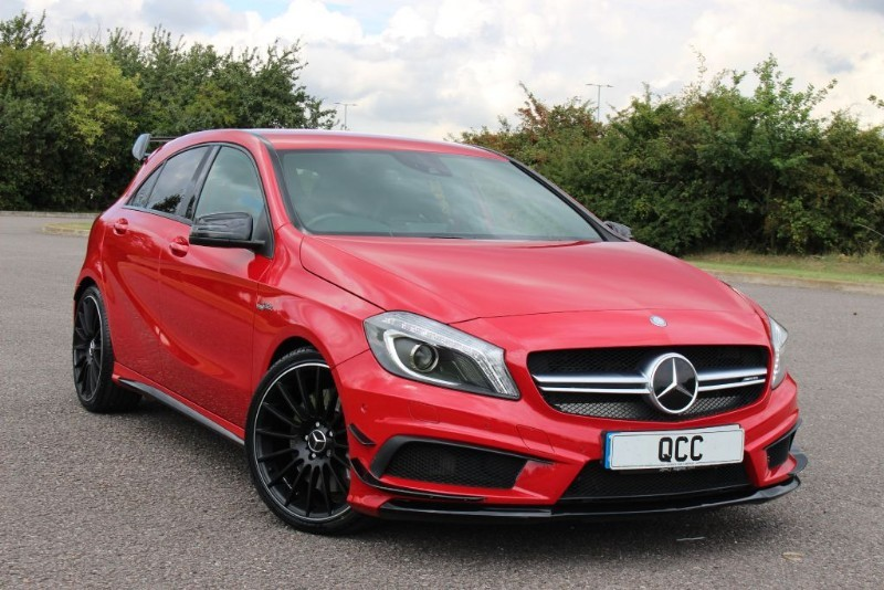 used Mercedes A45 AMG 4MATIC AERO DYNAMIC PACK in essex-for-sale