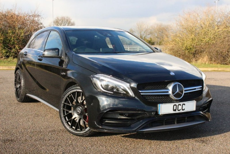 used Mercedes A45 AMG 4MATIC PREMIUM PACK in essex-for-sale