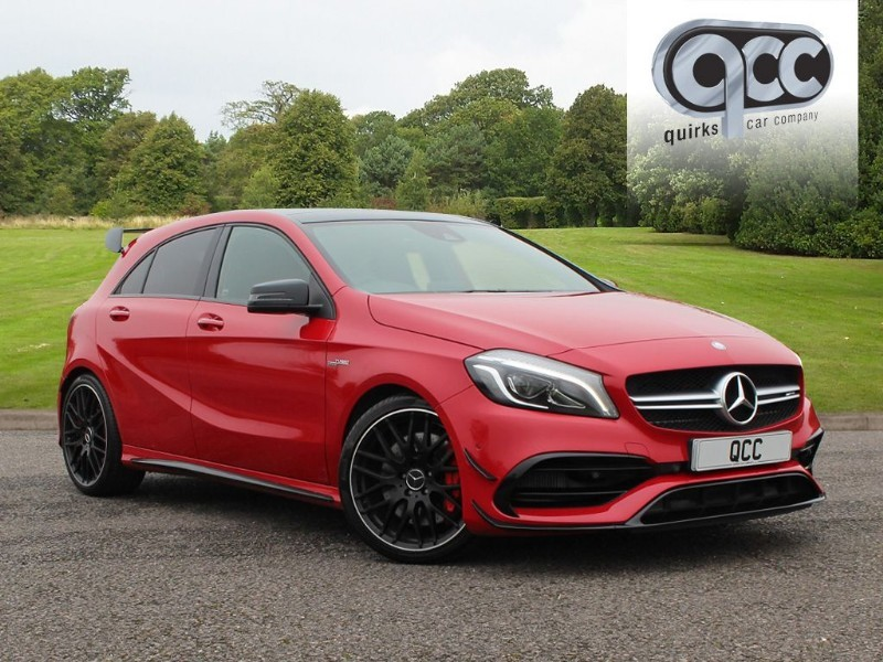 used Mercedes A45 AMG 4MATIC SPEEDSHIFT in essex-for-sale