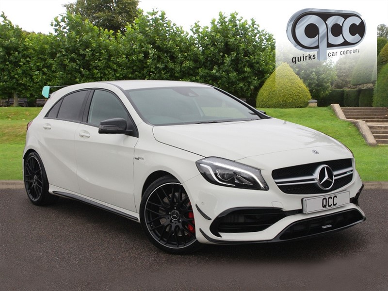 used Mercedes A45 AMG 4MATIC 2.0 in essex-for-sale