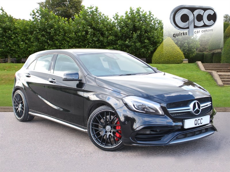 used Mercedes A45 AMG 4MATIC PREMIUM in essex-for-sale