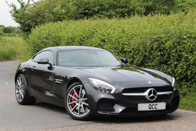used Mercedes AMG GT S 4.0 BI-TURBO PREMIUM PACK in essex-for-sale