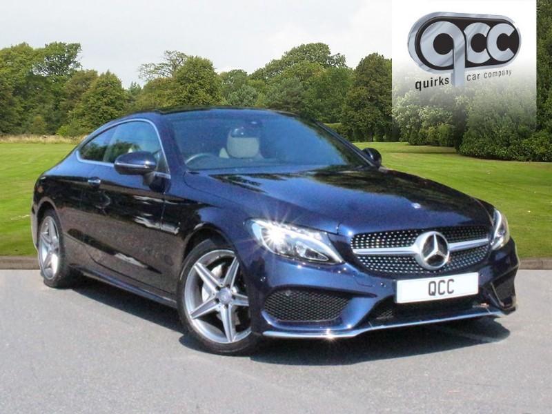 used Mercedes C220 C-CLASS C 220 D AMG LINE PREMIUM in essex-for-sale