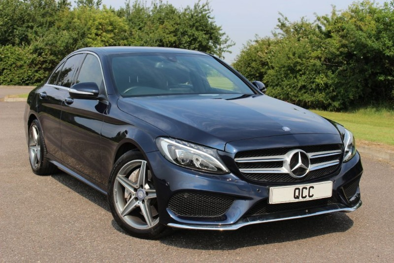 used Mercedes C250 BLUETEC AMG LINE PREMIUM in essex-for-sale