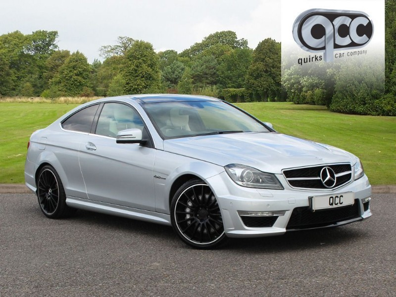 used Mercedes C63 AMG COUPE in essex-for-sale