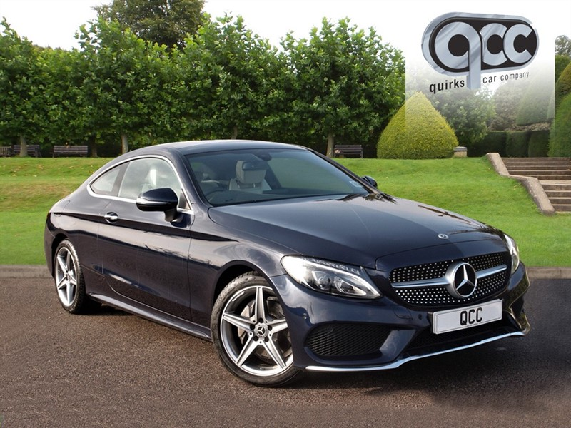 used Mercedes C220 D AMG LINE PREMIUM in essex-for-sale