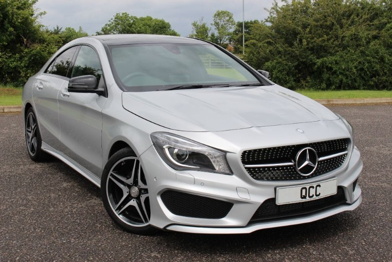 used Mercedes CLA180 AMG LINE DCT in essex-for-sale