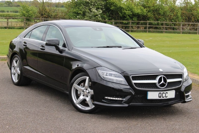 used Mercedes CLS CLS350 CDI BLUEEFFICIENCY AMG SPORT in essex-for-sale