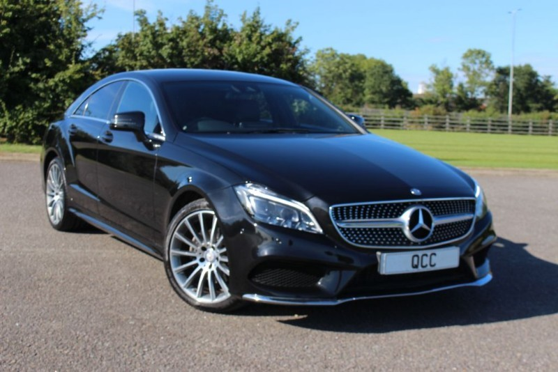used Mercedes CLS CLS220 D AMG LINE 174 BHP in essex-for-sale