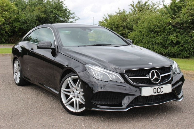 used Mercedes E220 E-CLASS E 220 D AMG LINE EDITION in essex-for-sale