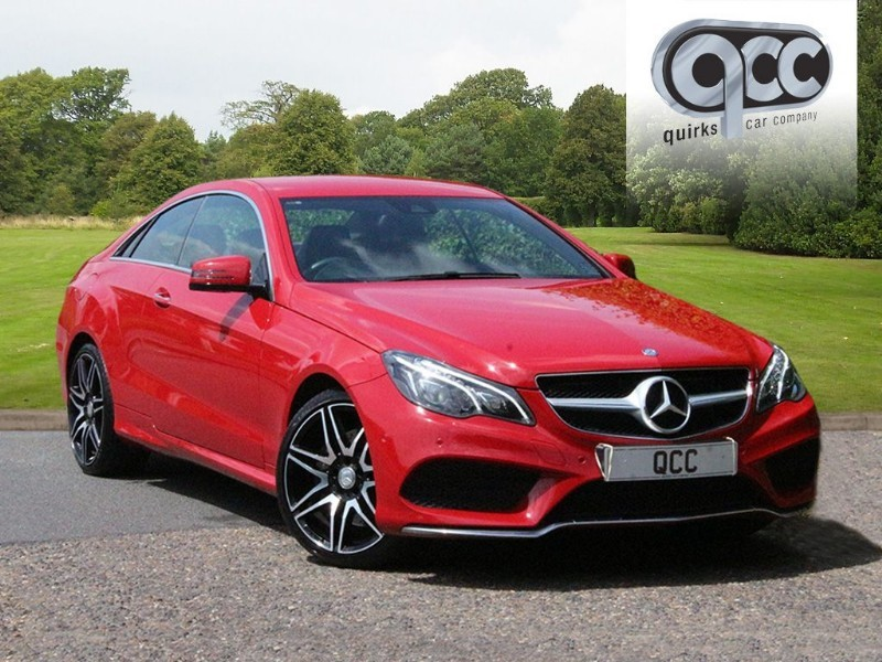 used Mercedes E400 AMG LINE COUPE AUTO in essex-for-sale