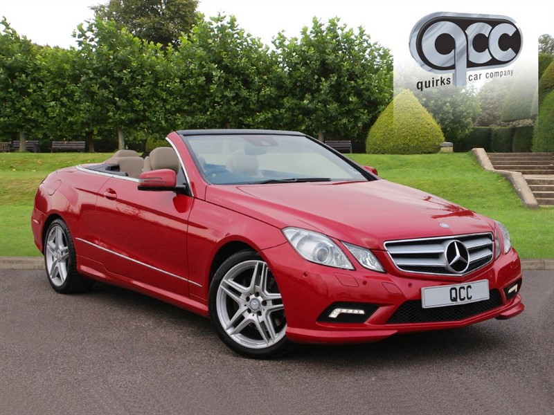 used Mercedes E350 CDI BLUEEFFICIENCY SPORT in essex-for-sale