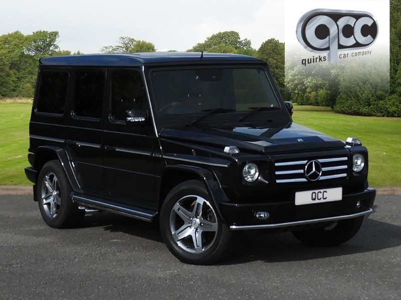 used Mercedes G55 AMG G-CLASS AMG 5DR AUTO 500 BHP in essex-for-sale