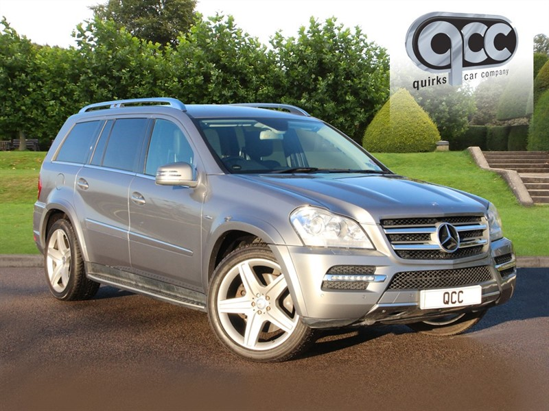 used Mercedes GL350 CDI BLUEEFFICIENCY in essex-for-sale