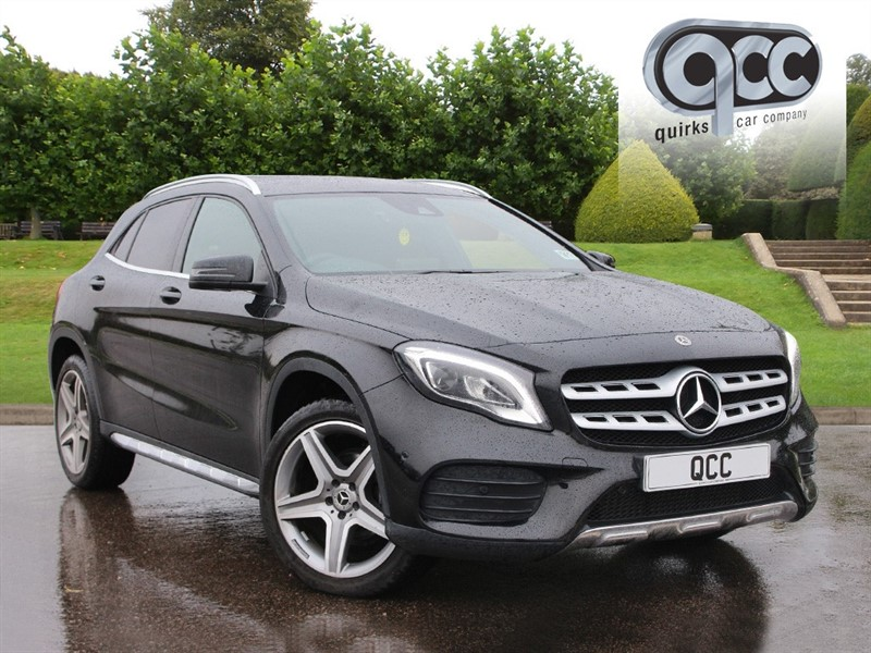 used Mercedes GLA200 GLA  D 4MATIC AMG LINE PREMIUM in essex-for-sale