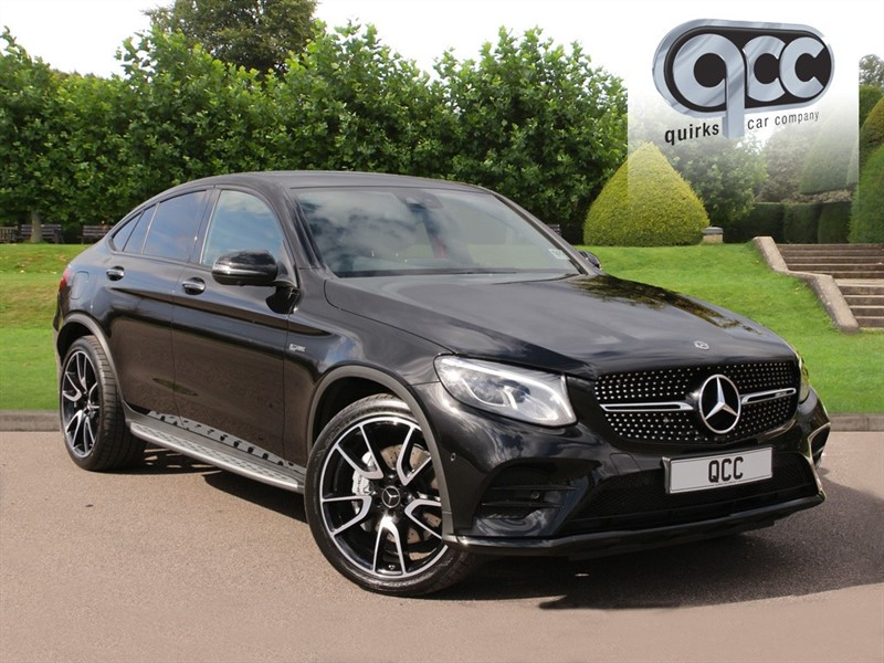 used Mercedes GLC43 AMG 3.0 4MATIC PREMIUM PLUS COUPE in essex-for-sale