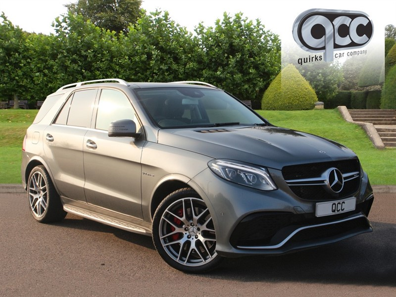 used Mercedes GLE63 AMG S 4MATIC PREMIUM in essex-for-sale