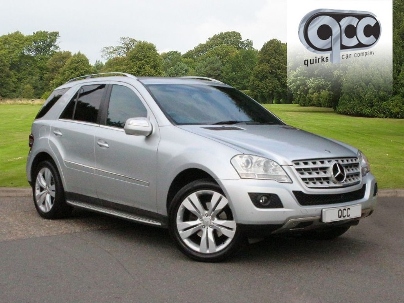 used Mercedes ML320 CDI SPORT in essex-for-sale