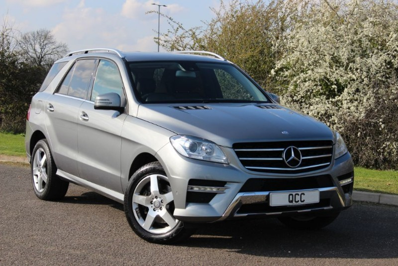 used Mercedes ML350 BLUETEC AMG SPORT in essex-for-sale