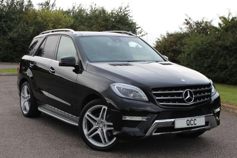 used Mercedes ML350 BLUETEC AMG LINE PREMIUM in essex-for-sale