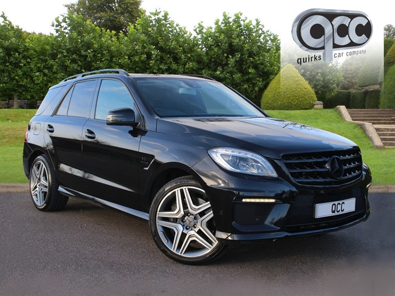 used Mercedes ML63 AMG in essex-for-sale