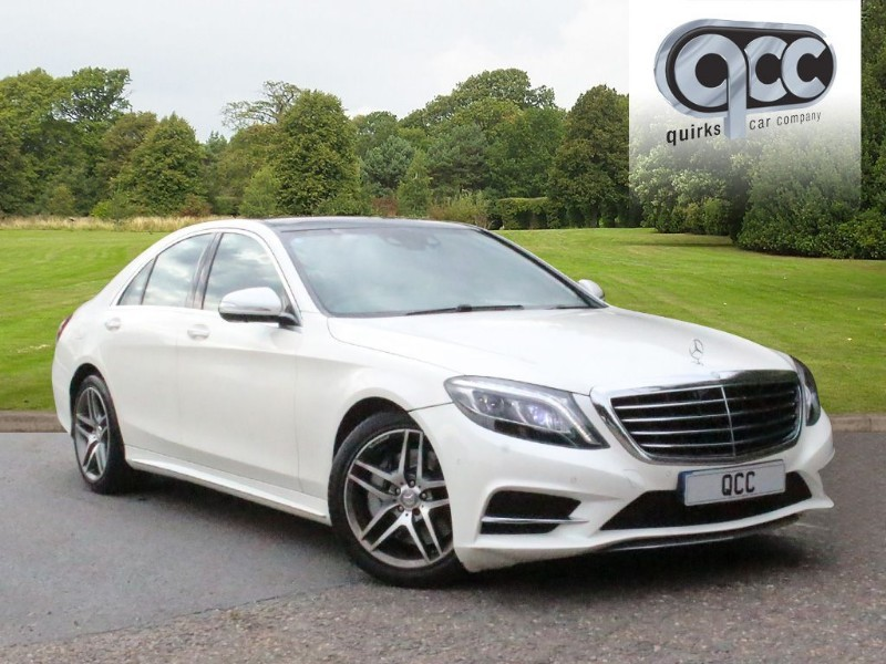 used Mercedes S350 BLUETEC AMG LINE EXECUTIVE PACK in essex-for-sale