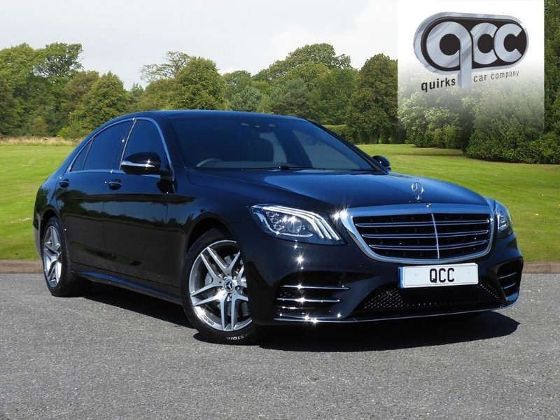 used Mercedes S350L S-CLASS S 350 D L AMG LINE EXECUTIVE in essex-for-sale