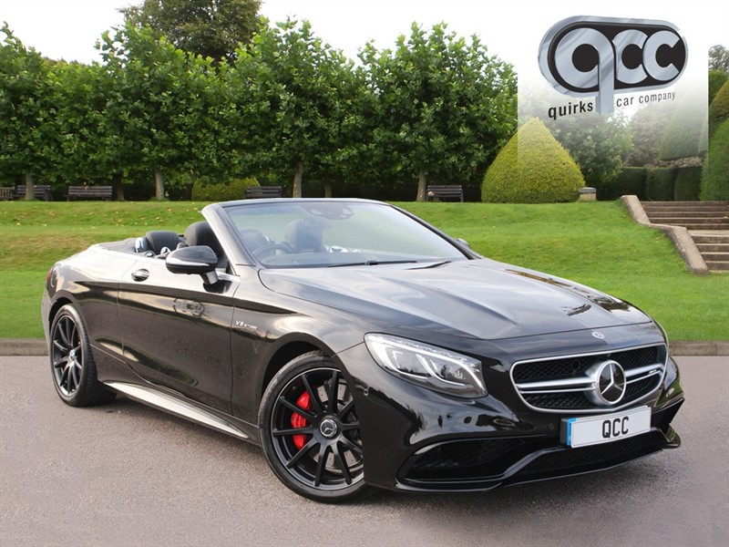 used Mercedes S63 AMG 5.5 CABRIOLET in essex-for-sale