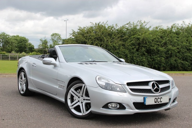 used Mercedes SL SL500 in essex-for-sale