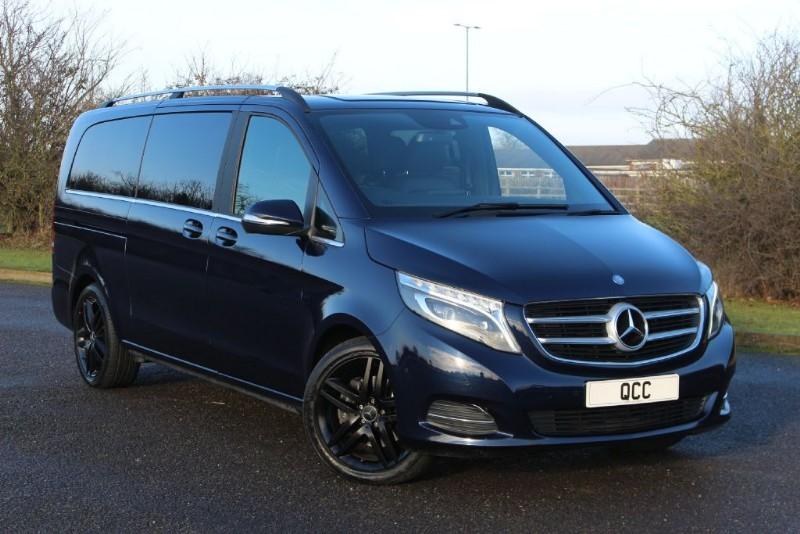 used Mercedes V220 BLUETEC SPORT EXTRA LWB PLUS VAT in essex-for-sale