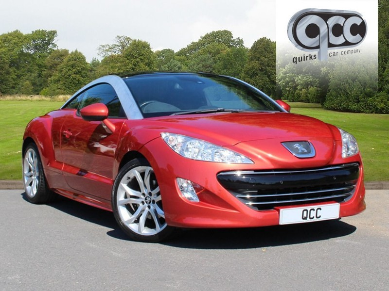 used Peugeot RCZ THP GT in essex-for-sale