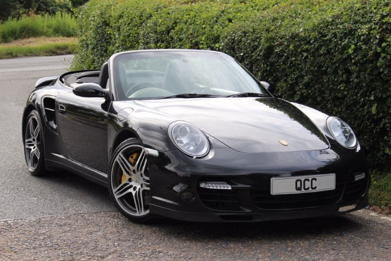 used Porsche 911 Turbo TIPTRONIC S CABRIOLET in essex-for-sale