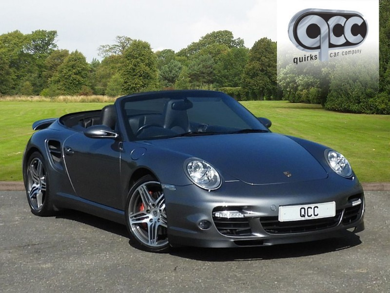 used Porsche 911 Turbo 997 TURBO CONVERTIBLE TIPTRONIC S in essex-for-sale