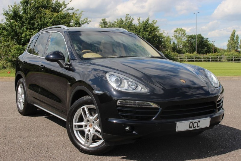 used Porsche Cayenne D V6 TIPTRONIC in essex-for-sale