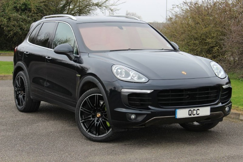 used Porsche Cayenne S E-HYBRID TIPTRONIC in essex-for-sale