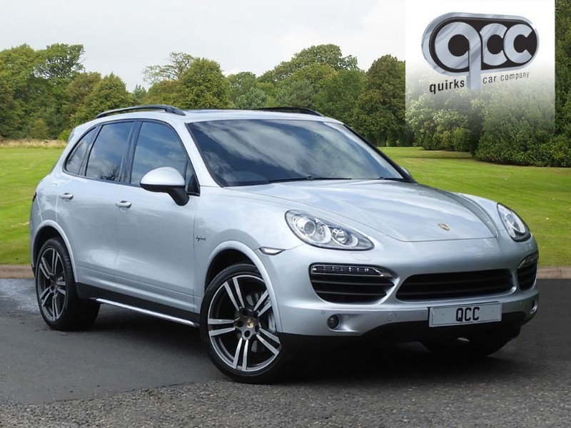 used Porsche Cayenne S HYBRID TIPTRONIC S in essex-for-sale