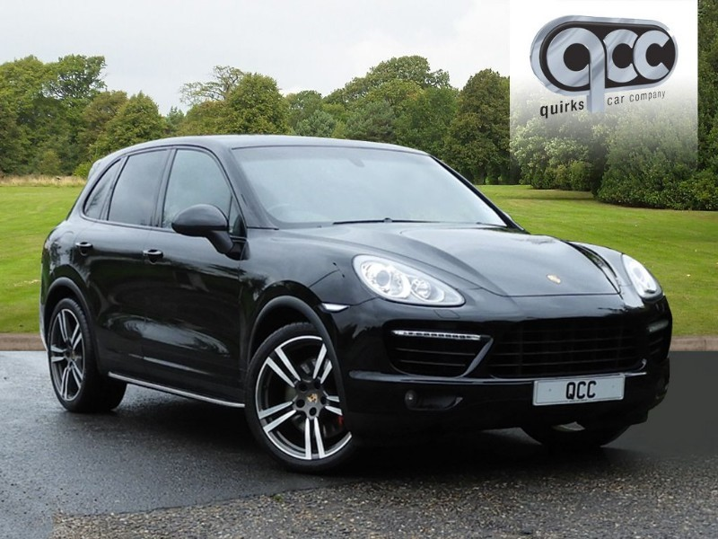 used Porsche Cayenne V8 TURBO TIPTRONIC S in essex-for-sale