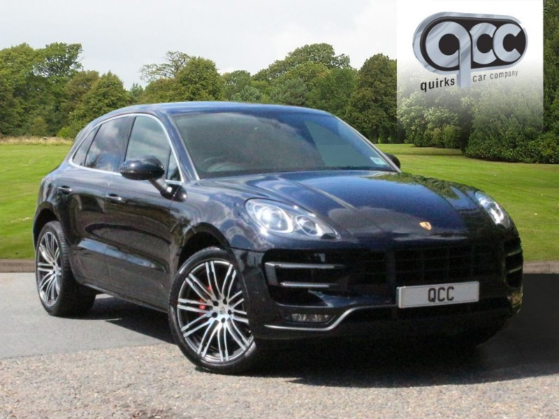 used Porsche Macan TURBO PDK in essex-for-sale