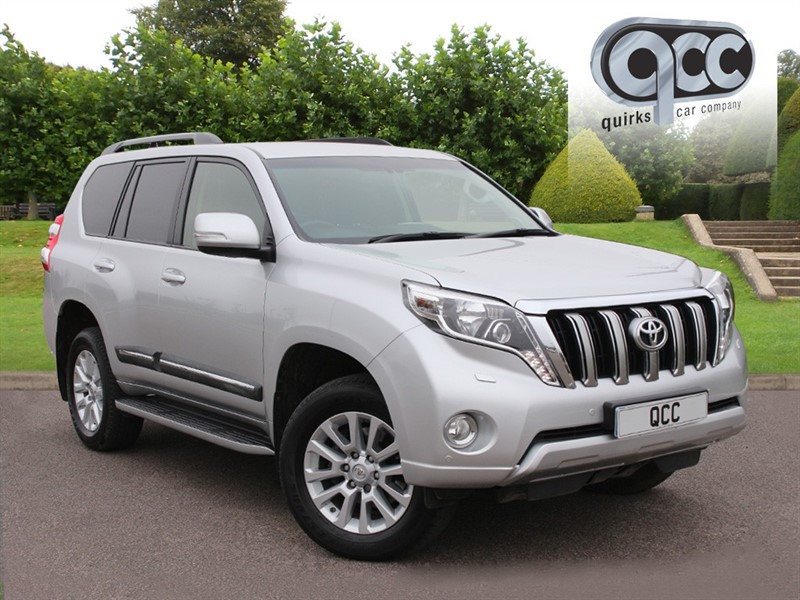 used Toyota Land Cruiser D-4D ICON 7 SEATS in essex-for-sale
