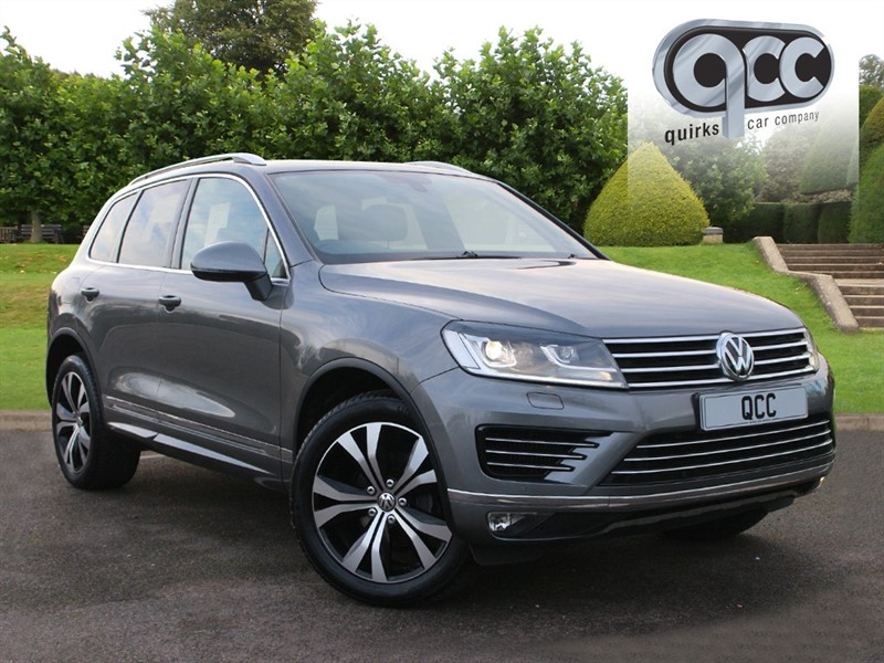 used VW Touareg V6 R-LINE TDI BLUEMOTION TECHNOLOGY in essex-for-sale