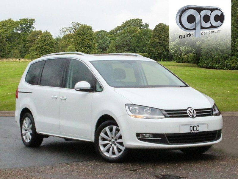 used VW Sharan SEL TDI DSG in essex-for-sale