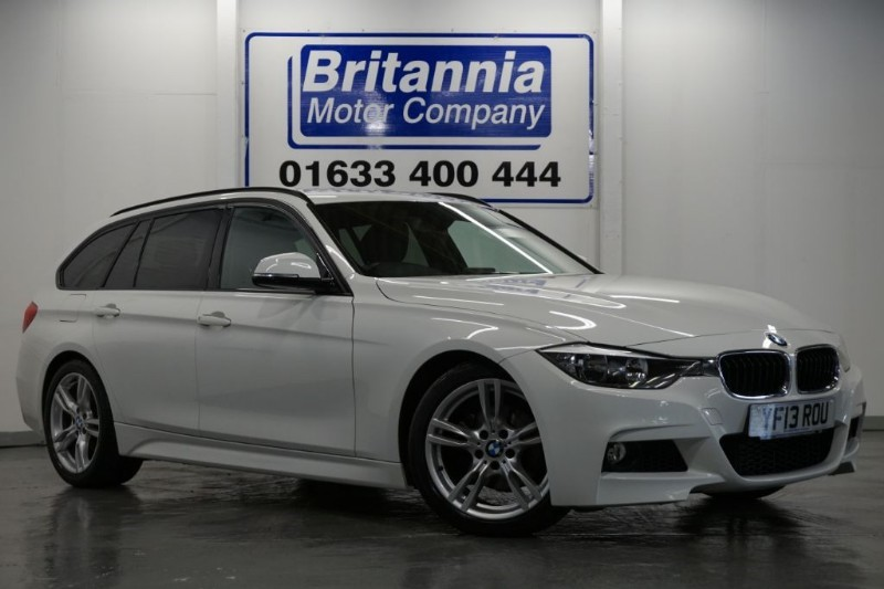 used BMW 320d DIESEL M SPORT TOURING AUTOMATIC in newport-south-wales
