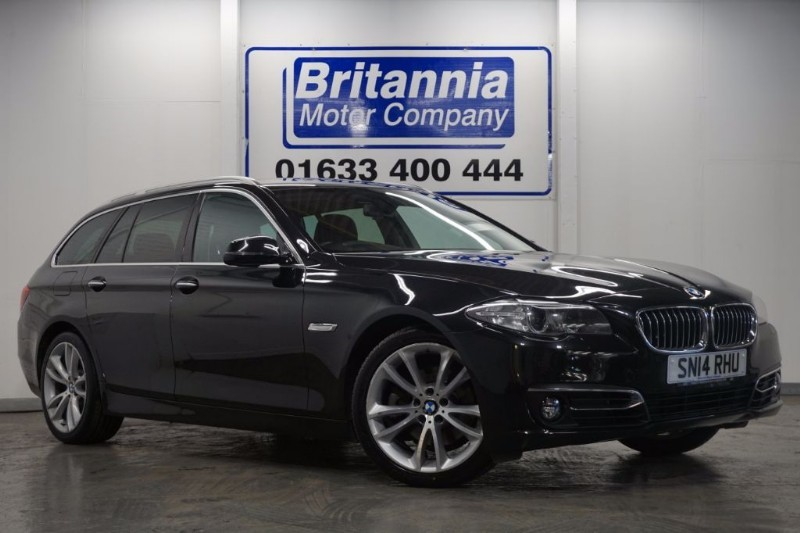 used BMW 520d DIESEL LUXURY AUTOMATIC TOURING in newport-south-wales