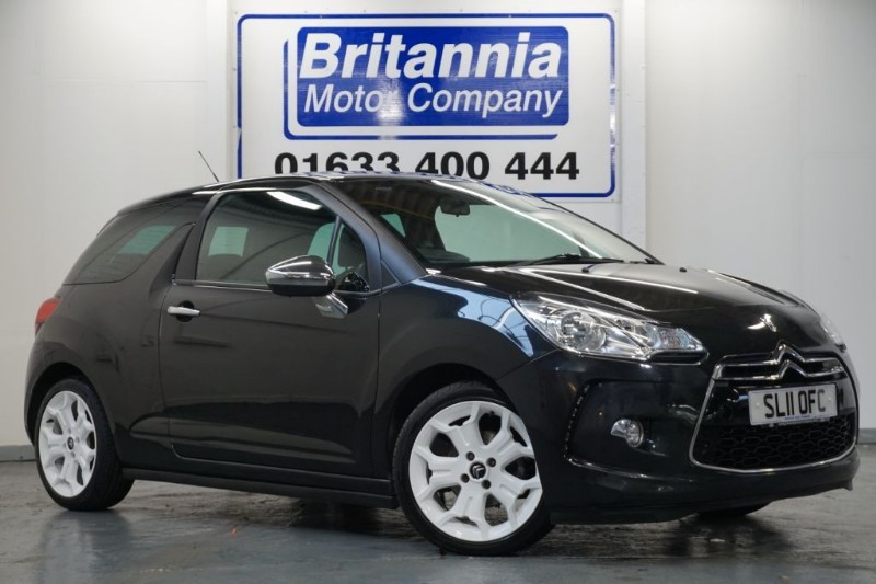 used Citroen DS3 HDI DIESEL BLACK AND WHITE EDITION in newport-south-wales