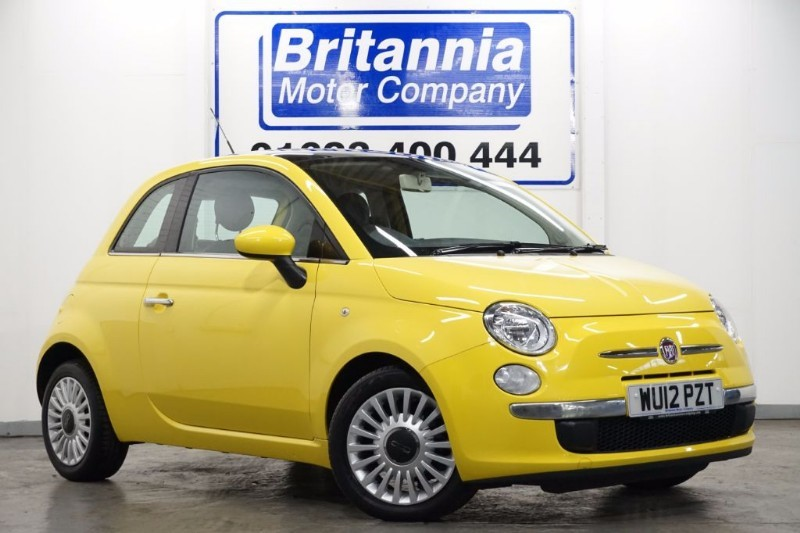 used Fiat 500 LOUNGE HIGH SPEC £30 TAX in newport-south-wales