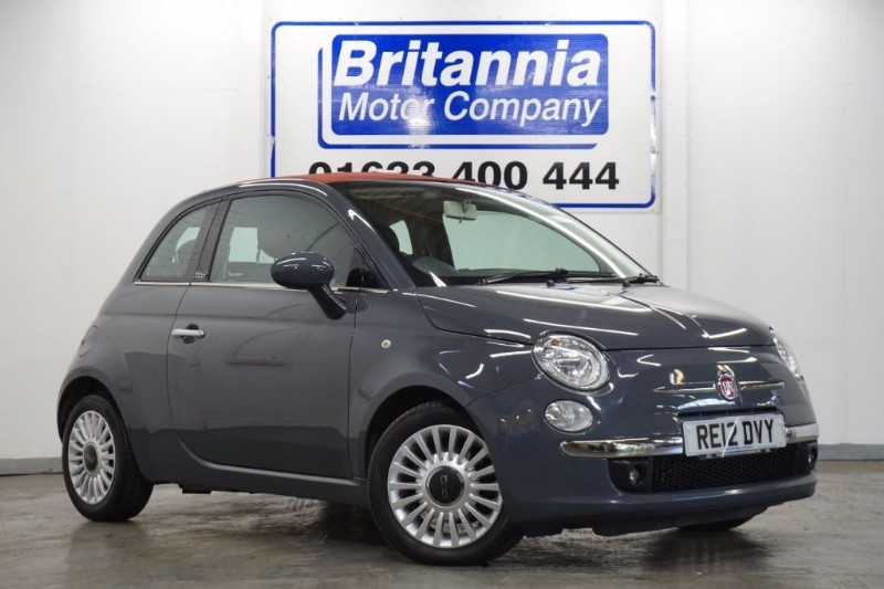 used Fiat 500C LOUNGE CONVERTIBLE in newport-south-wales