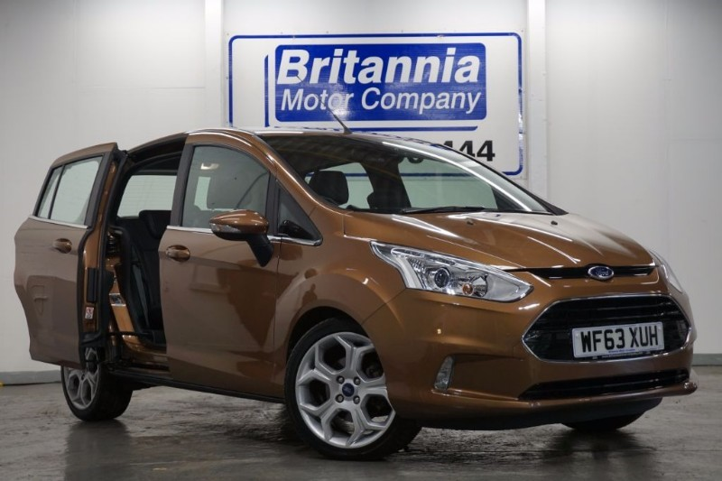 used Ford B-Max TDCI DIESEL TITANIUM HUGE SPEC ! in newport-south-wales