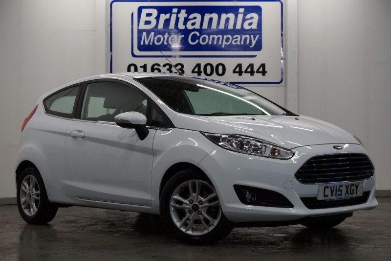 used Ford Fiesta ZETEC CLIMATE 3 DOOR in newport-south-wales