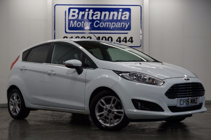 used Ford Fiesta ZETEC CLIMATE ECOBOOST £0 TAX in newport-south-wales